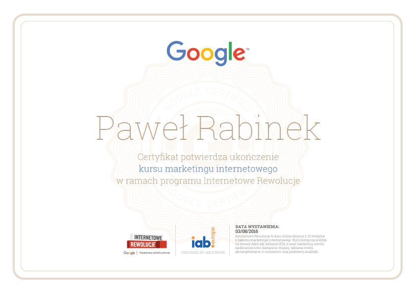 certyfikat-pawel-internetowe-rewolucje