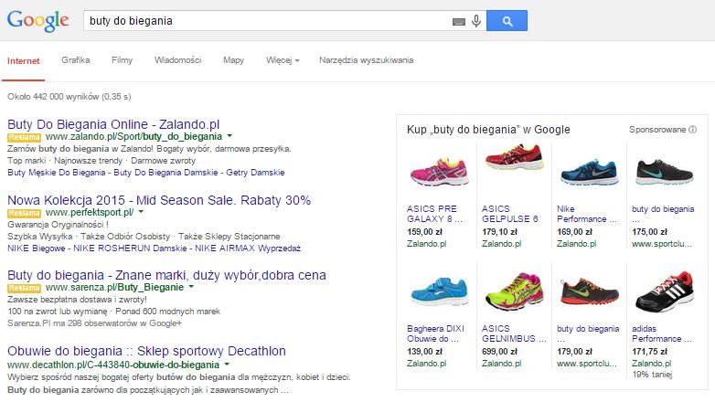 Zakupy Google - Kampania Produktowa
