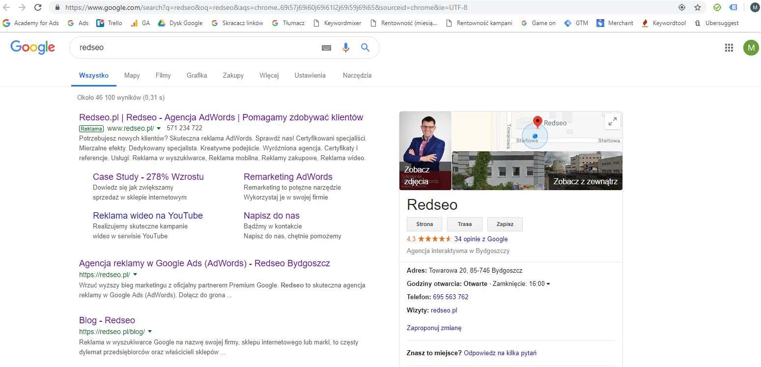 18c940f0c4c225 Google Ads w formie przewodnika dla laika - Redseo